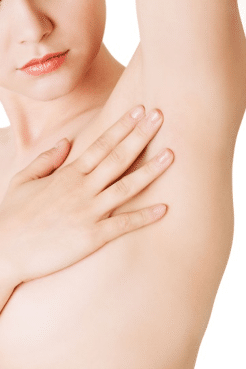 Voksbehandling armhule